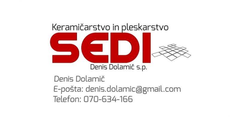 Oblikovanje logotipa -Keramičarstvo in pleskarsto sedi Denis Dolamič s.p.